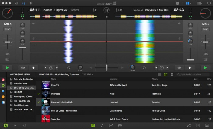 Djay 2 Pro-Software Screenshot