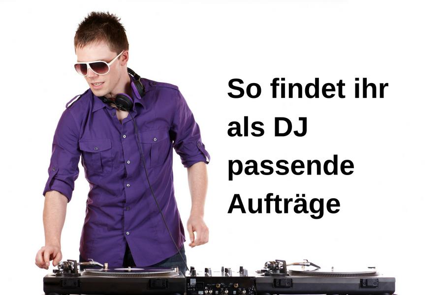 DJ-Jobs: So findet ihr die passenden Aufträge