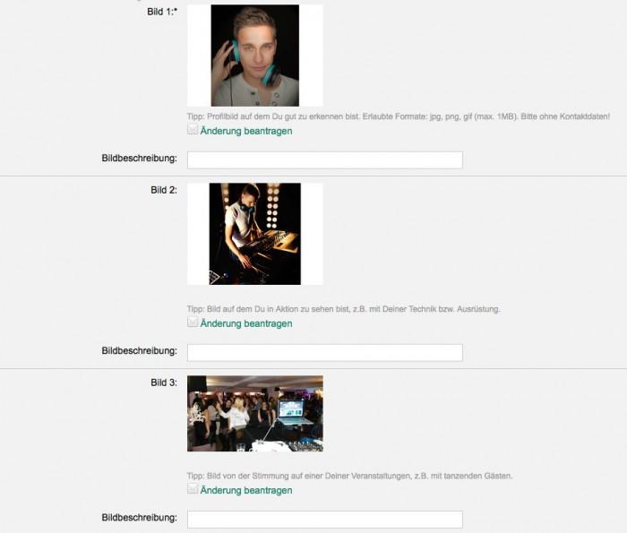 DJ-Profilbilder