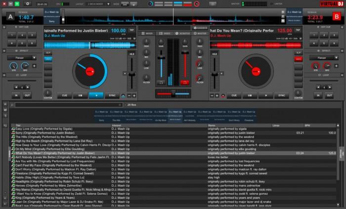 Virtual DJ 8 Software-Screenshot