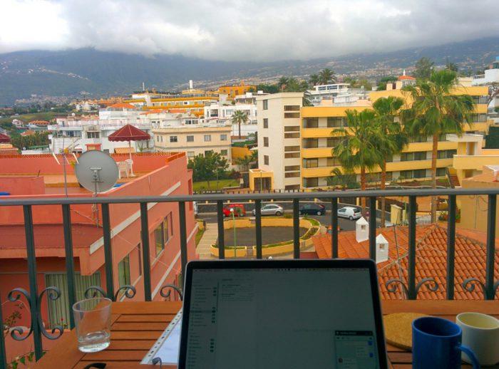 Büro mit Ausblick Teneriffa
