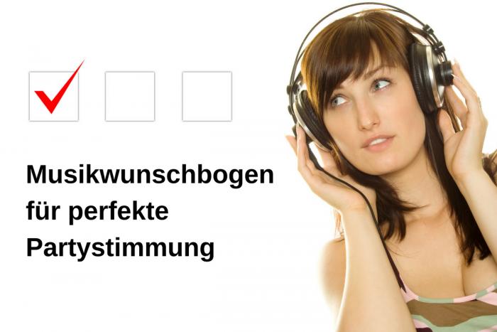Musikwunschbogen von DJs für Kunden – So kommt Stimmung auf!