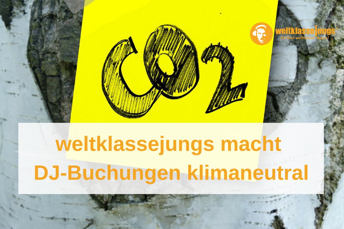 Klimaneutralität: weltklassejungs engagiert sich gegen vermehrte CO²-Emissionen