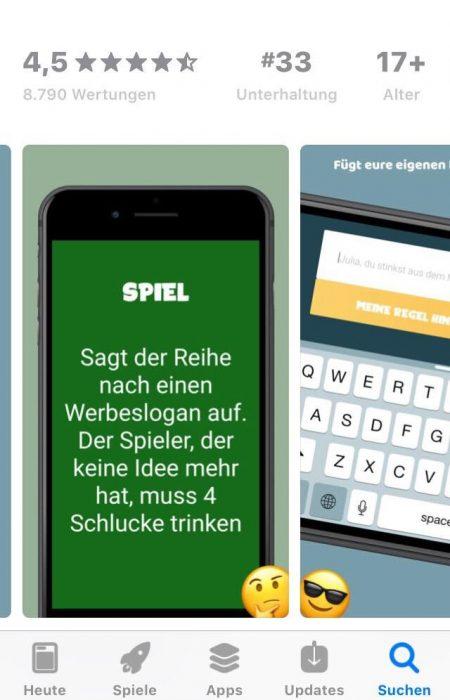App Trinkspiele