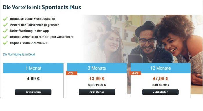Spontacts Plus