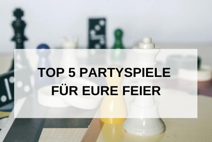 Partyspiele: Unsere Top 5 der witzigsten Partyspiele