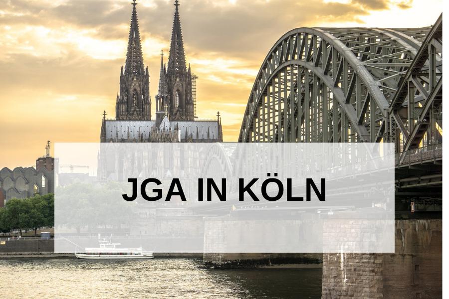 Junggesellenabschied in Köln feiern