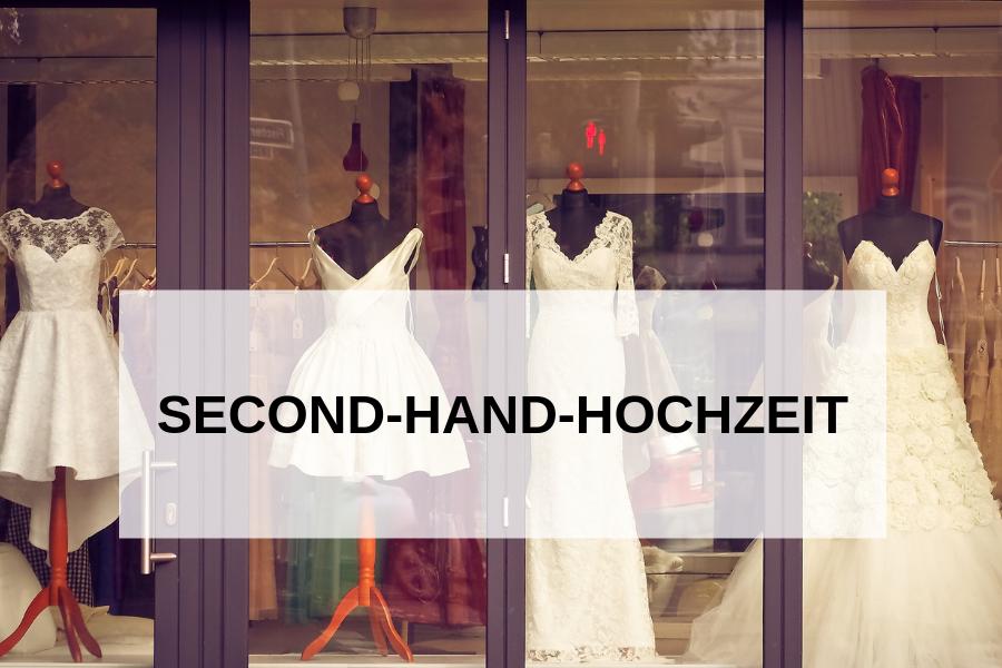 Second-Hand-Hochzeit: Darum solltet ihr sie ernsthaft in Erwägung ziehen!