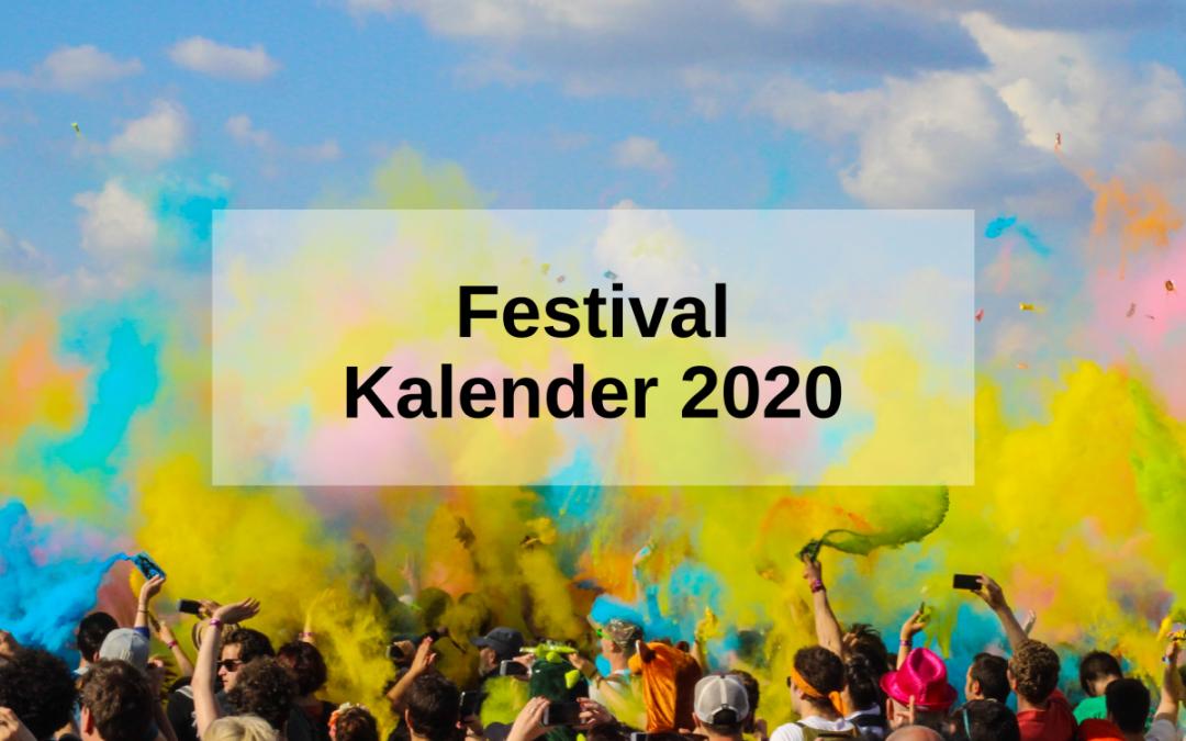 Festival Kalender 2020: Die besten Festivals des Jahres