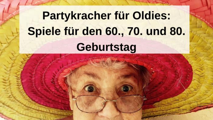 Partykracher für Oldies: Die besten Spiele zum 60-sten Geburtstag